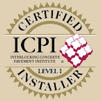 Interlocking Concrete Pavement Institute Certified Installer | click logo for info